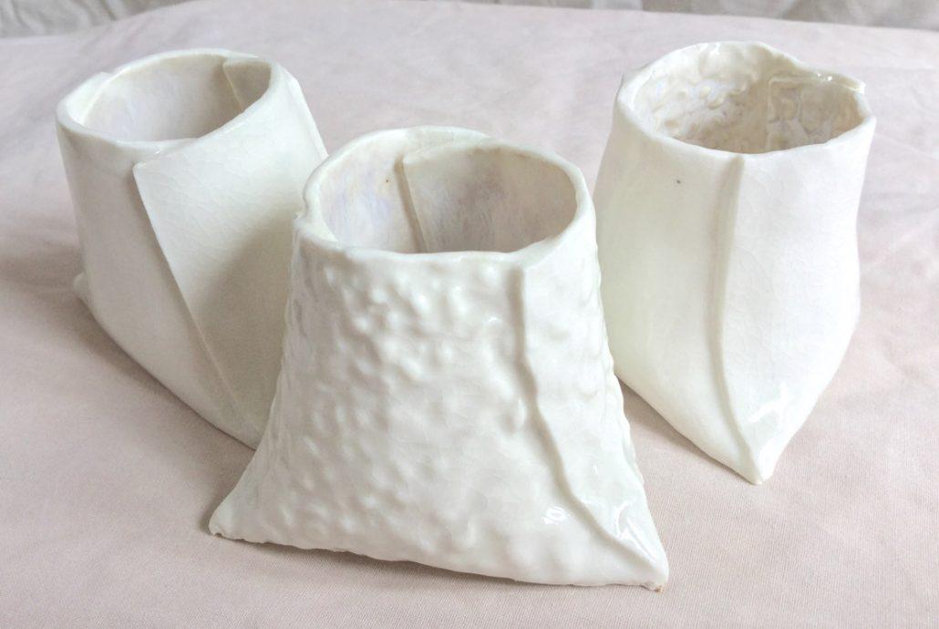 Porcelain by Herle Mette Andersen. #Dublin #CeramicClass #porcelain #handmade #loveclay #ceramicforms