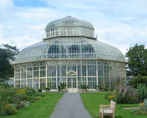 The Great Palm House. National-botanic-gardens-dublin.